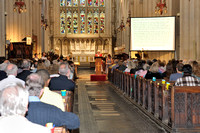 Prayer Event in Bath Abbey 22.6